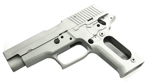 Guarder Alum Slide & Frame for MARUI P226 Navy (Alum w/ Marking)